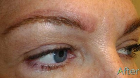 Do you do 3d embroidery permanent makeup eyebrows for Lip tattoo fade